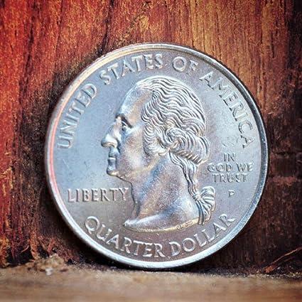 MilesMagic Real US Quarter Dollar Coin for Magic Trick, Silver