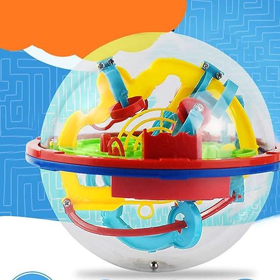 Footprintes 3D Puzzle Magic Maze Ball 299 Nivel Perplexus Mágico Intelecto Mármol Puzzle Game IQ Balance Juguetes educativos para niños: Amazon.es: Juguetes y juegos
