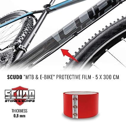 Quattroerre 16042 - Marco Protector para Bicicleta (5 cm x 3 m): Amazon.es: Coche y moto