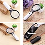 Golvery Magnifier, 2 Lens 3X 45X Magnifying Glass