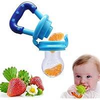 Demarkt 1 Pcs Sucettes Tétine pour Bébé Tétine Biberons en Silicone Safe Alimentaire Feeder Pacifier pour Bébé Fille et Garçon