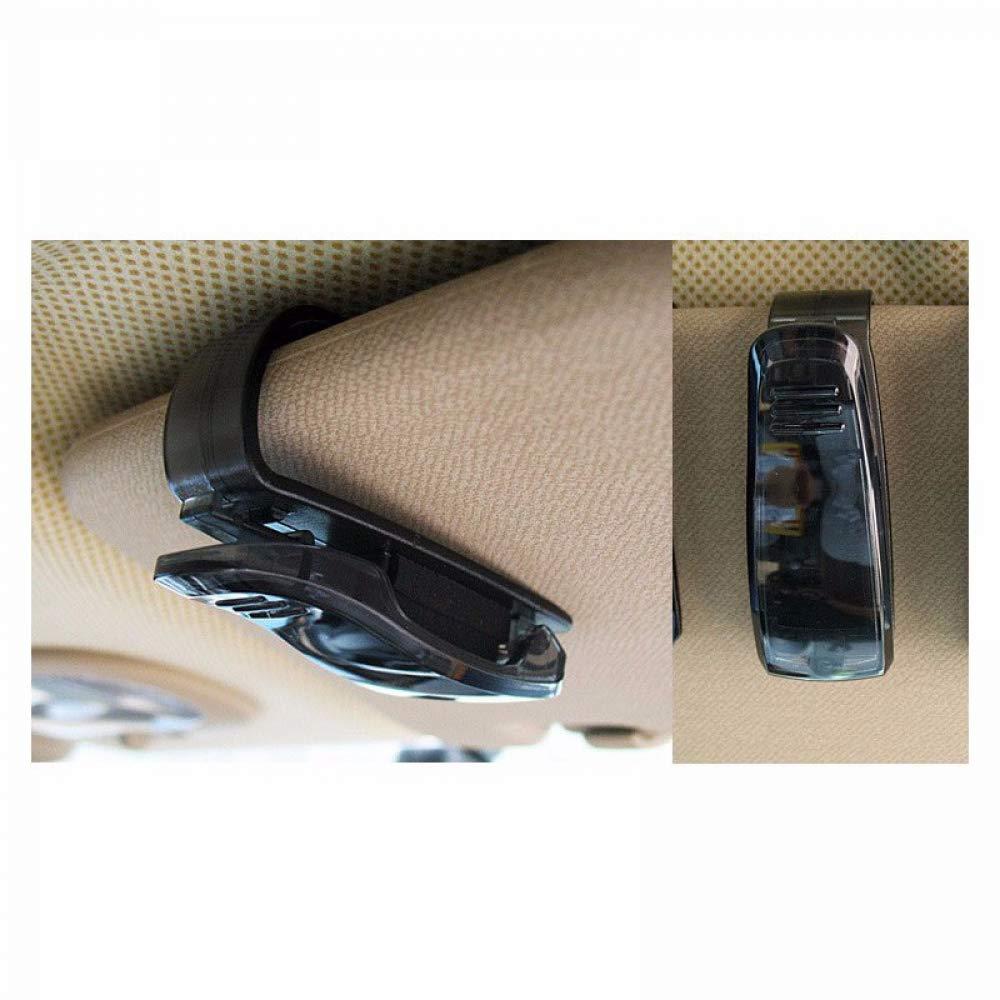 WBXHZYDGJ 10pcs Portable Glasses case car Supplies Clip Card Pen Ticket Receipt Clip car Sun Visor Sunglasses Clip