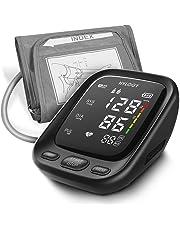 HYLOGY Misuratore Pressione da Braccio, Sfigmomanometro da Braccio Pressione Arteriosa Digitale Automatica, Grande Schermo LED, 2 * 90 Memoria e Bracciale 22-42 cm