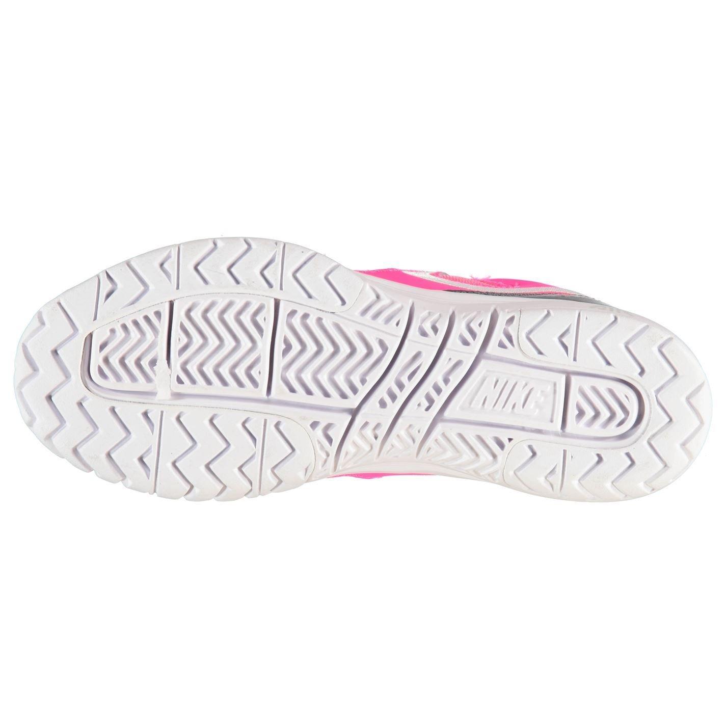 NIKE Air Dampf Ace Tennis Court Sneaker Schuhe Damen pink