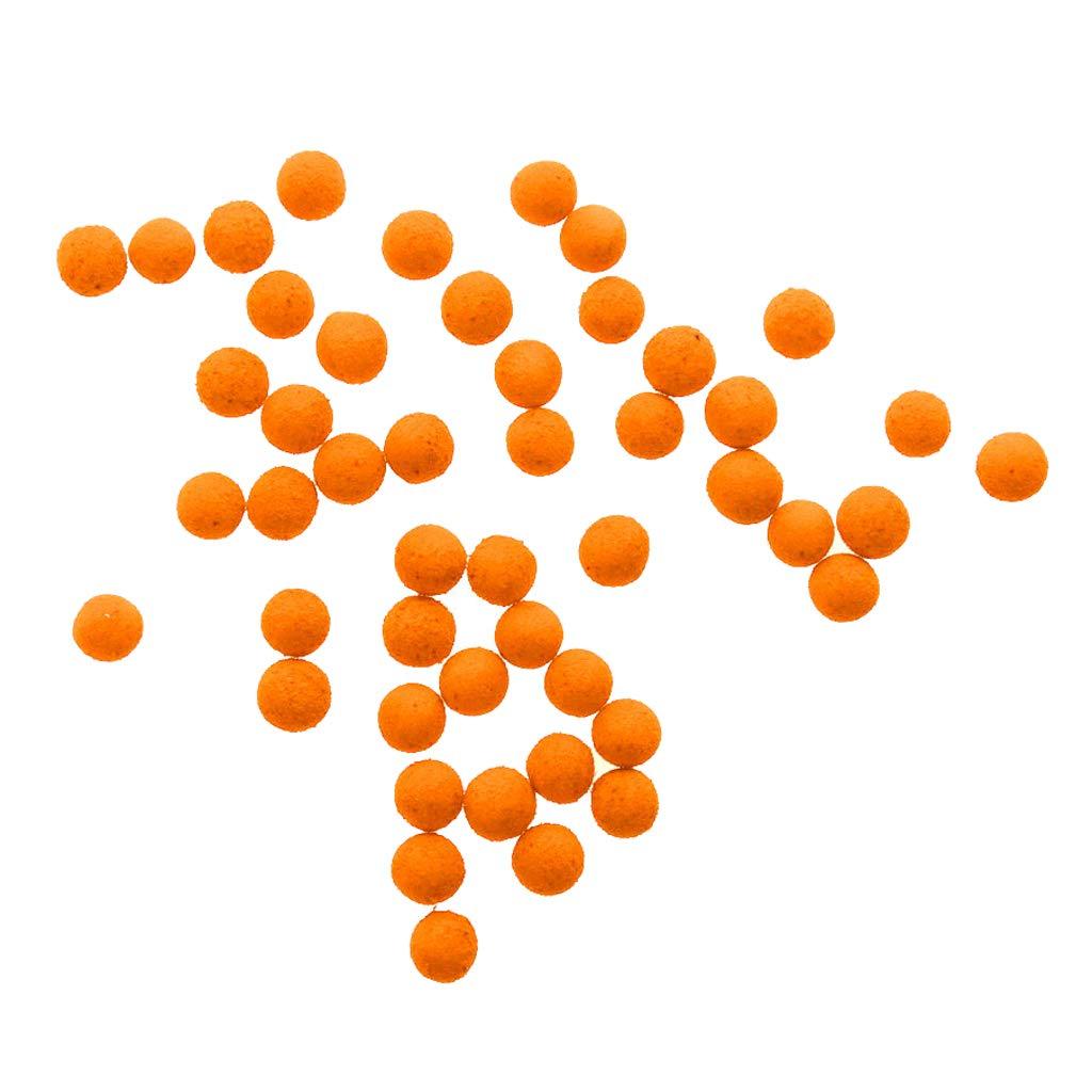 B Baosity 30pcs Reusable Pop up Boilies Bait Soft Lures Carp Fishing Floating Ball Beads 10mm