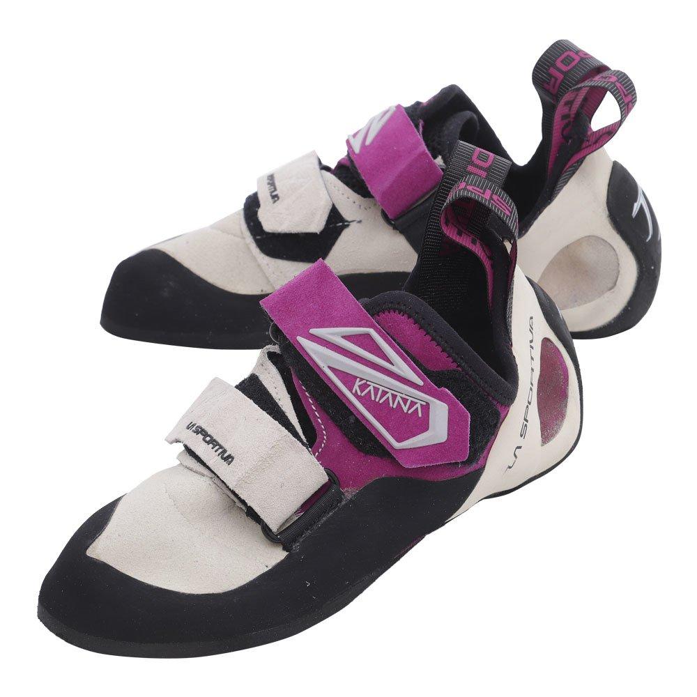 La Sportiva Mädchen Katana Woman Kletterschuhe Weiß-purple