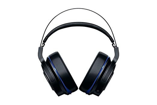 b90e849f43f Amazon.com: Razer Thresher Ultimate for PS4: Dolby 7.1 Surround Sound -  Lag-Free Wireless Connection - Retractable Digital Microphone - Base  Station ...