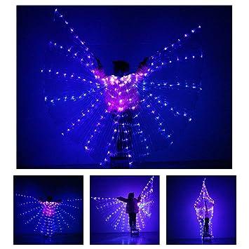 Amazon.com: KT Mall - Alas de baile para niños, con 2 ...