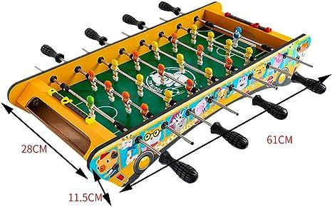 Football Table Juego de Mesa de futbolín para Jugar al Billar con Dibujos Animados: Amazon.es: Hogar