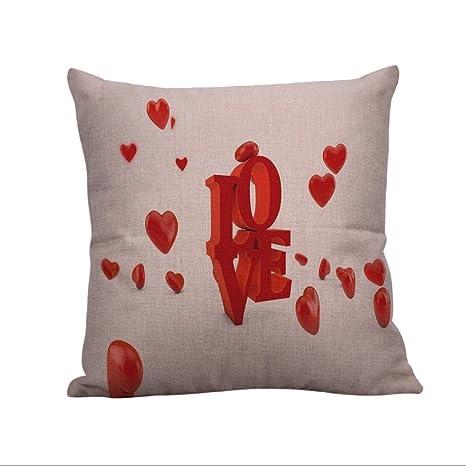 Amazon.com: Amor fundas de almohada, Cicuta fundas de cojín ...