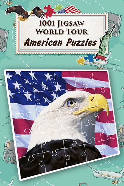 Excellent Puzzle Game - 1001 Jigsaw World Tour: American Puzzles [Download]