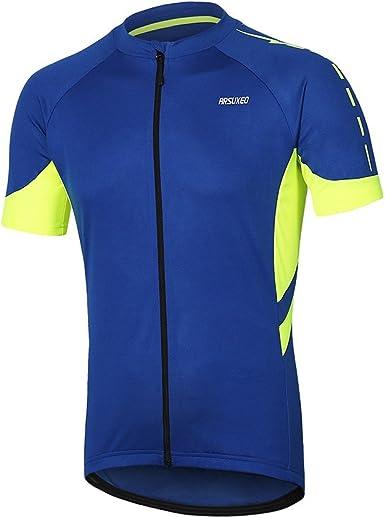 Camiseta ciclismo Mtb Jerse Transpirabilidad Media cremallera Camisa manga corta