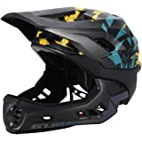 Lixada Children's Bicycle Helmet, Adjustable Full Helmet Riding Helmet, Suitable for Children 3-15 Years Old Bicycle, Skateboard, Scooter, Roller Skates, Protective Equipment (21.2 inches-22.8 inches