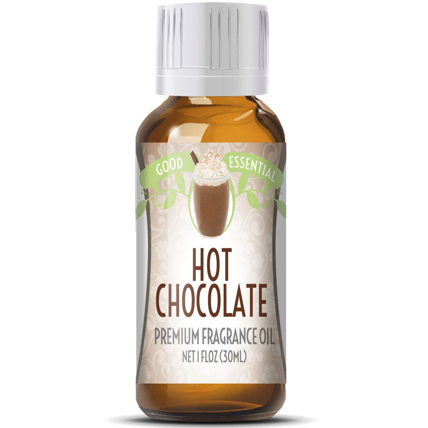 Hot Chocolate Scented Oil by Good Essential (Huge 1oz Bottle - Premium Grade Fragrance Oil) - Perfect for Aromatherapy, Soaps, Candles, Slime, Lotions, and More!