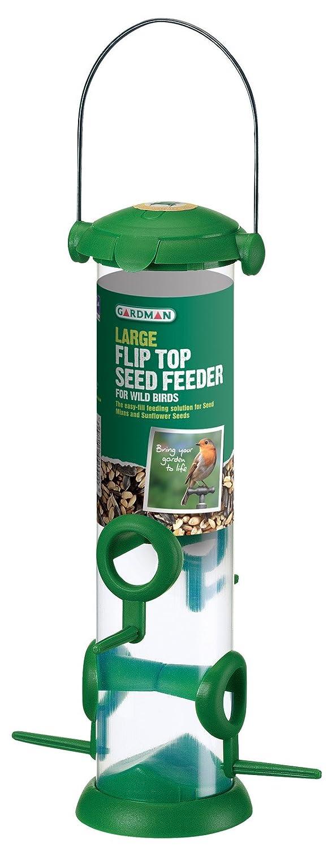 Gardman A01235 Flip Top Seed Feeder, Large