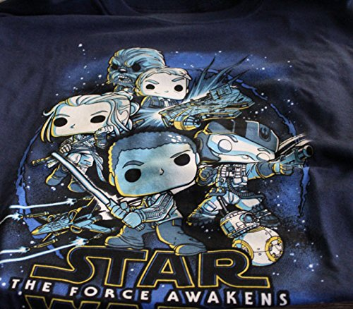 Funko Smugglers Bounty Star Wars Resistance Force Awakens Rebels Shirt (Large)