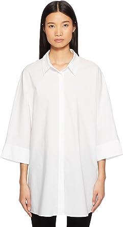 7242ca540 Escada Sport Womens Neighty Button up 3/4 Sleeve Top: Amazon.co.uk: Clothing