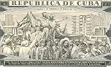 1979 CU GEM UNICRC 1979 CUBAN PESO BANKNOTE w CASTROS TRIUMPHANT ENTRY TO HAVANA! MARTI PORTAIT! 20TH ANNIVERSARY ISSUE! 1 PESO Gem Crisp Uncirculated