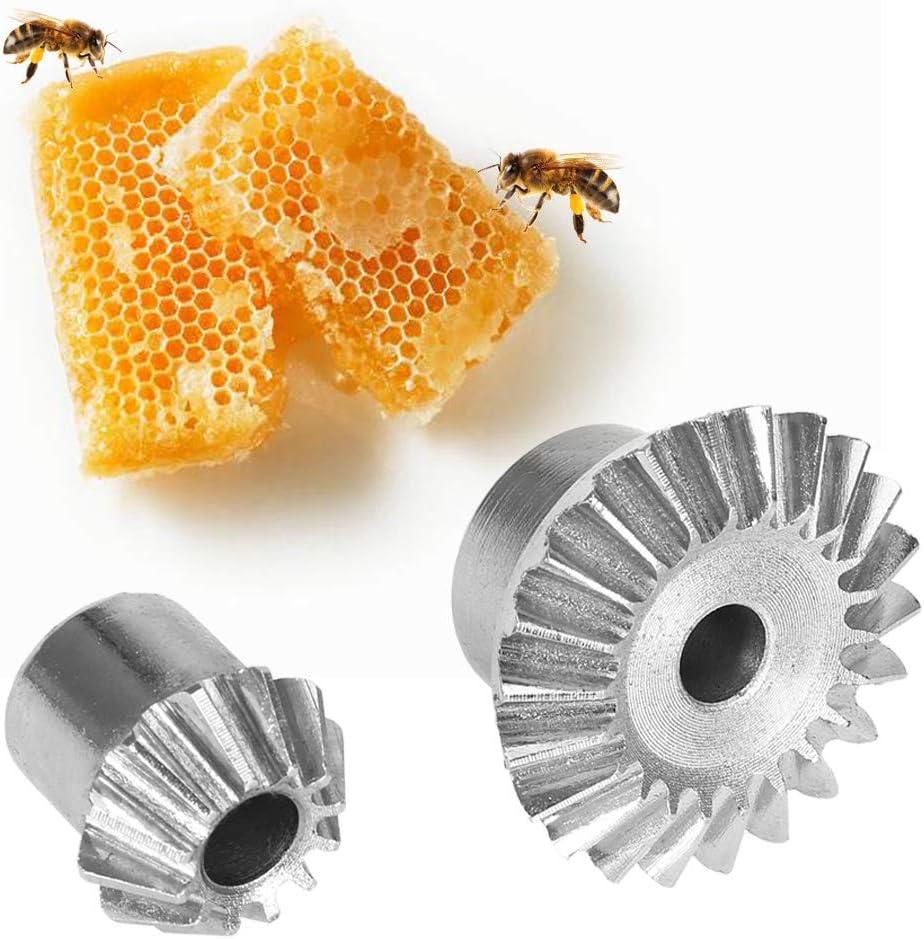 Wifehelper Engranajes de Acero Inoxidable con Extractor de Miel y Juego de Tornillos y Herramientas para la eliminaci/ón del Extractor de Miel.