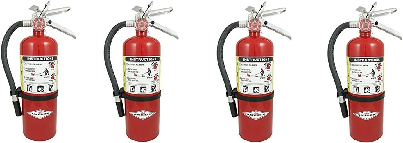 Amerex B500, 5lb ABC Dry Chemical Class A B C Fire Extinguisher 4