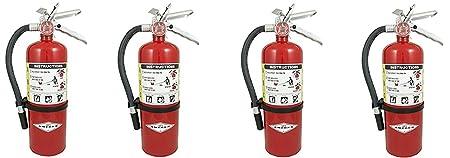 Amerex B500, 5lb ABC Dry Chemical Class A B C Fire Extinguisher 4