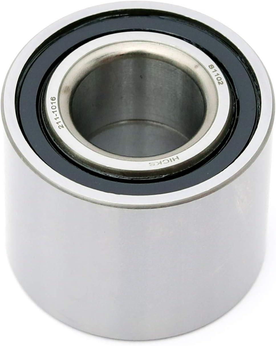 HICKS Replaces Kawasaki Part # 92045-0102 92045-1411for Rear Wheel Bearings for Kawasaki Brute Force KVF 650 750 All Years//Models
