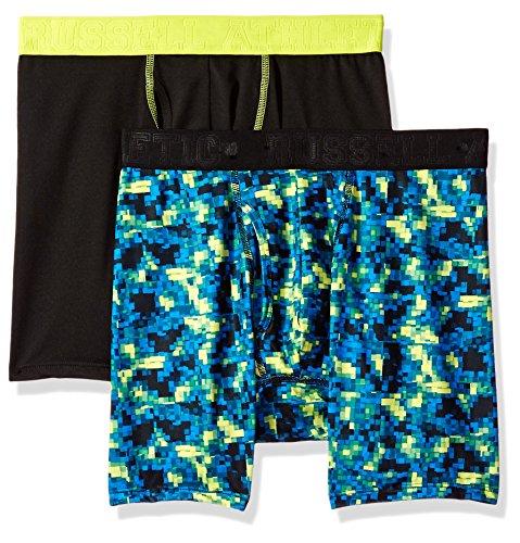 Russell Athletic Men's Performance Underwear Boxer Briefs, Cubit...