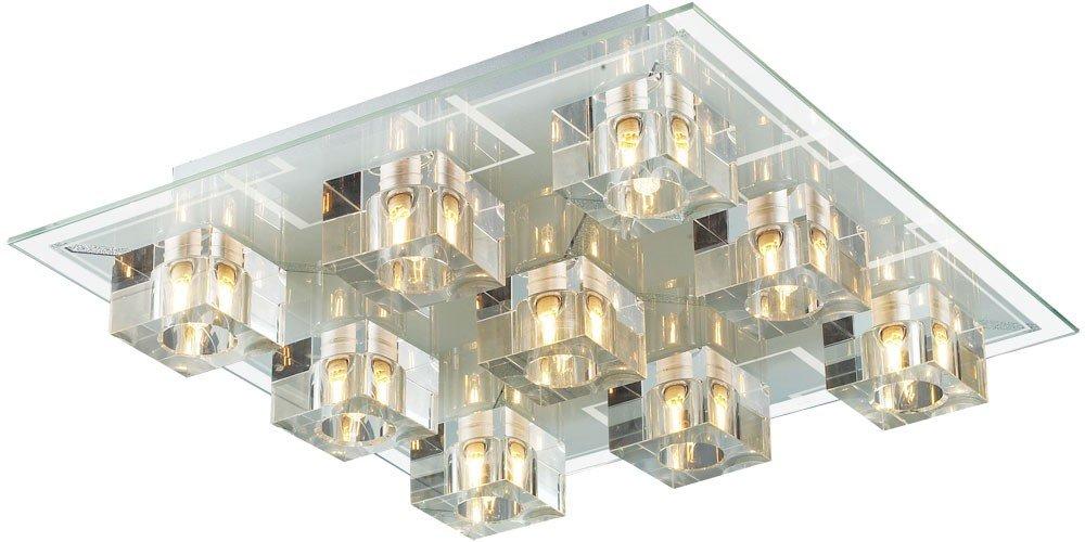 Plafond Lampe Lampe Lampe cristal verre plafonnier Esto MONET Mathis 994200-9 XX23217973
