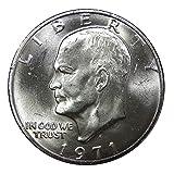 1971-S 40% Silver Eisenhower Dollar Gem Uncirculated