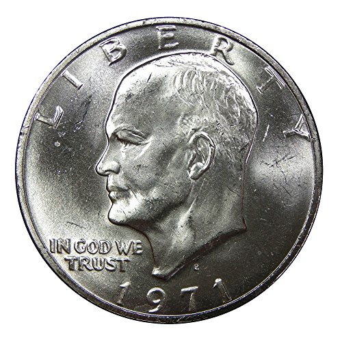 1971-S 40% Silver Eisenhower Dollar Gem Uncirculated