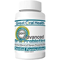 Chewable Oral Probiotics ~Dentist Formulated 60 Lozenge Bottle ~Attack Bad Breath, Cavities and Gum Disease ~Bad Breath Treatment~Contains BLIS M18 and BLIS K12~83 Page eBook Included!