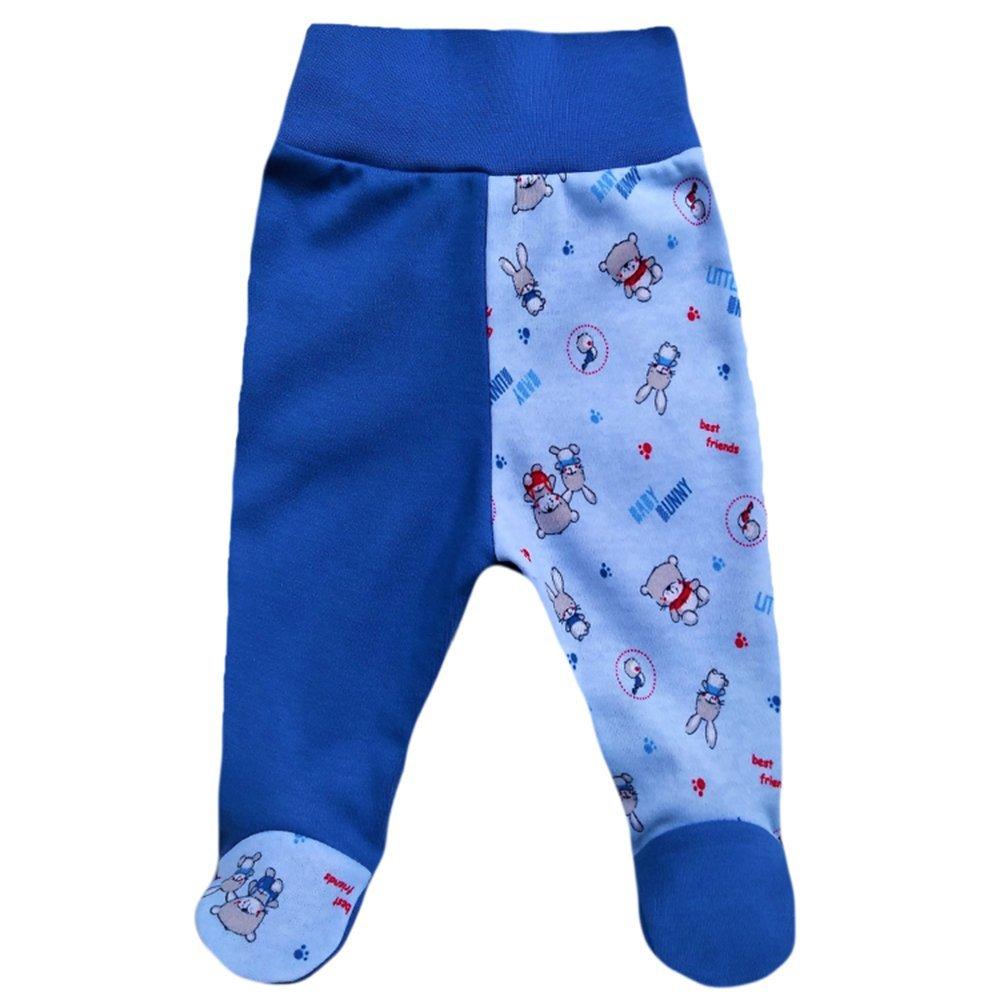 fa34f366e6 Baby Hose MEA BABY Unisex Baby Hose mit Fuß Baby Strampelhose mit Fuß 5er  Pack.