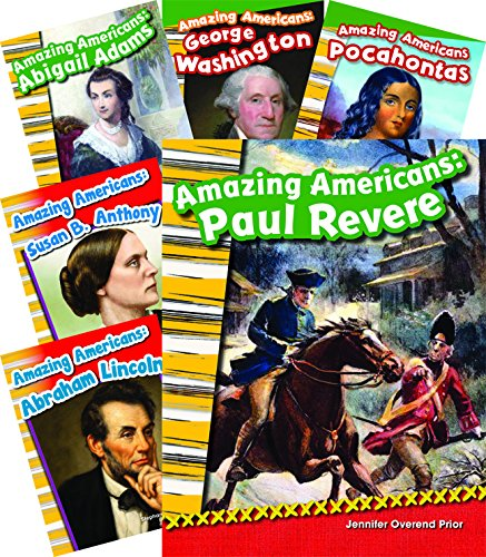 Amazing Americans 8-Book Set (Social Studies Readers)