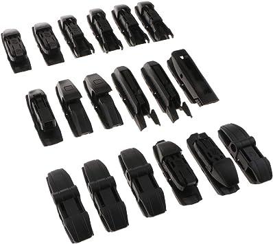 18x Replace Kit Wiper Blade Adaptor Wiper Connectors Wiper Joint