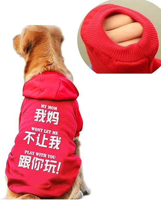 Li-HIM Ropa para Mascotas, Lavable En La Lavadora Suave Y Elástico ...