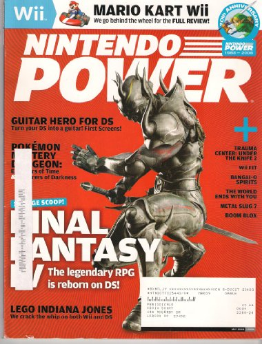 Boom Blox Wii (NINTENDO POWER May 2008 (Magazine. Volume 228. Final Fantasy IV. Mario Kart Wii. Guitar Hero for DS. Pokemon Mystery Dungeon: Explorers of Time & Explorers of Darkness. Trauma Center: Under the Knife 2. Bangai-o spirits. Metal Slug 7. Boom Blox.))