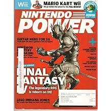 NINTENDO POWER May 2008 (Magazine. Volume 228. Final Fantasy IV. Mario Kart Wii. Guitar Hero for DS. Pokemon Mystery Dungeon: Explorers of Time & Explorers of Darkness. Trauma Center: Under the Knife 2. Bangai-o spirits. Metal Slug 7. Boom Blox.)