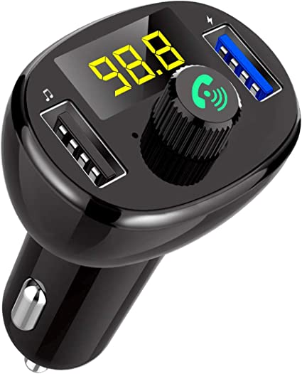 Car FM Transmitter Bluetooth Hands-free MP3 Player Radio Adapter Kit USB Charger