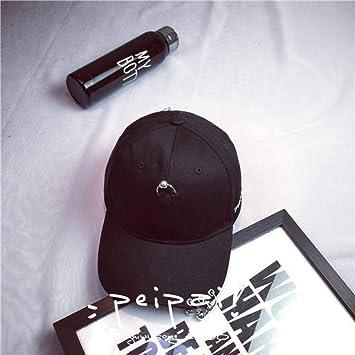 TJJQT Gorra de Beisbol Anillo sólido Pin de Seguridad Sombreros ...