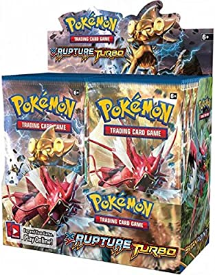 Pokémon - Caja de 36 sobres de cartas de expansión de Pokémon Rupture TURBO (texto en francés): Amazon.es: Juguetes y juegos