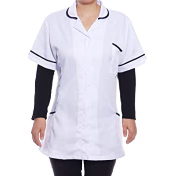 SurePromise One Stop Solution for Sourcing CLE DE Tous - Camisa Uniforme  Casaca Peluquería Manga Corta 295f727d8fb44
