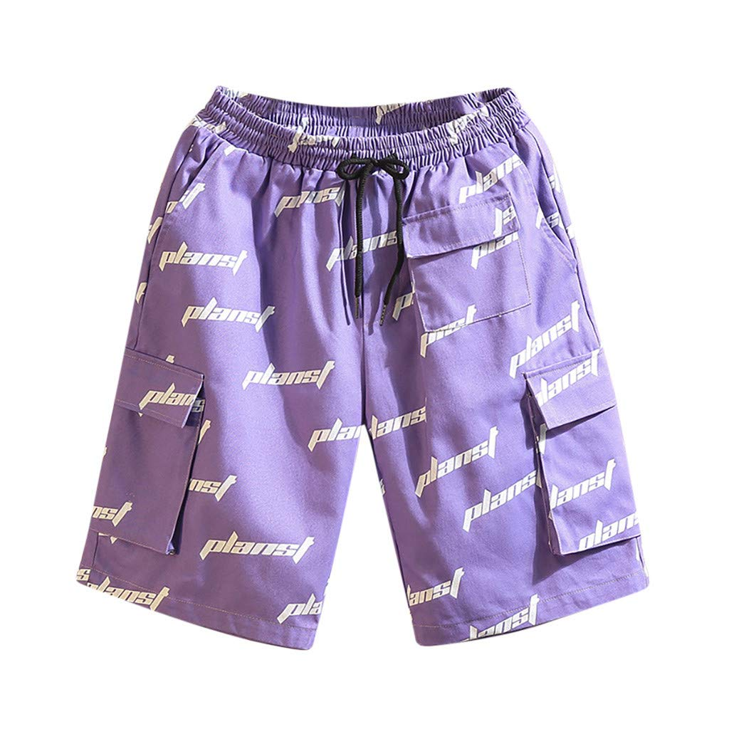 Swimming Men Shorts ♦ Clearance Sale, NDGDA Male Trousers in Spring and Summer Printed Beach Surfing Shorts by NDGDA 🐬 Men's Pants