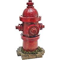 Design Toscano QL5468 Dog's Second Best Friend Fire Hydrant Statue Full Color Realistic Multi-Color