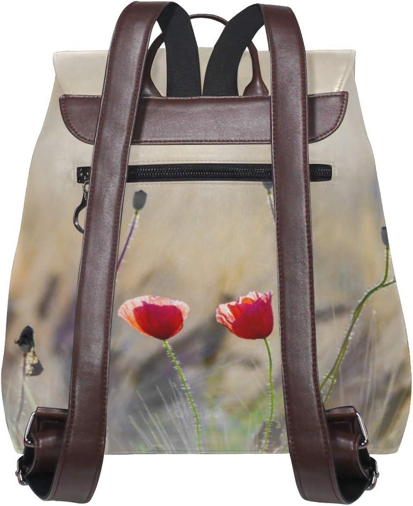 Travel Bag Shopping Bag Backpack Storage Bag For Men Women Girls Boys Personalized Pattern Two Red Flowers School Bag