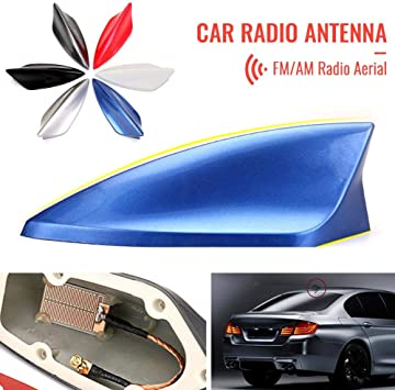 Roof Shark Fin Style Aerial Replacement Antenna For Car Auto Truck Vehicle
