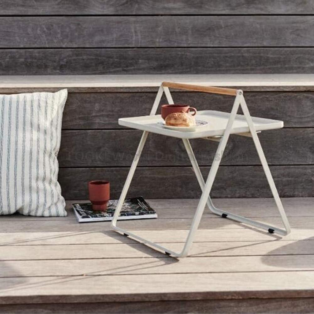 Betaalbaar MK Tafellamp, voor telefoon, tafel, bank, bijzettafel, eikentafel, ijzeren kunst, koffietafel, bijzettafel, woonkamersofa, draagbare salontafel zwart Kleur: wit AH3232w