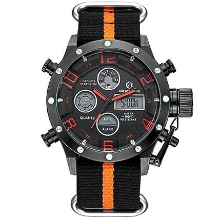 WULIFANG La Moda Hombre De Led Reloj Digital De Cuarzo Exterior Electrónica Relojes Deportivos para Hombres