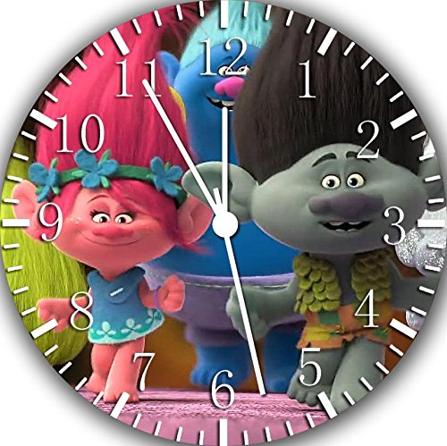 Poppy And Branch Trolls Wall Clock