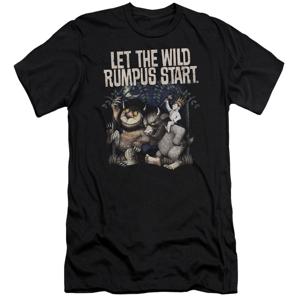 9a8935a3d Where The Wild Things Are unisex adult 100% cotton premium Canvas Brand  short-sleeve T shirt. In addition to being 4.3 oz with a 30/1 thread count,  ...