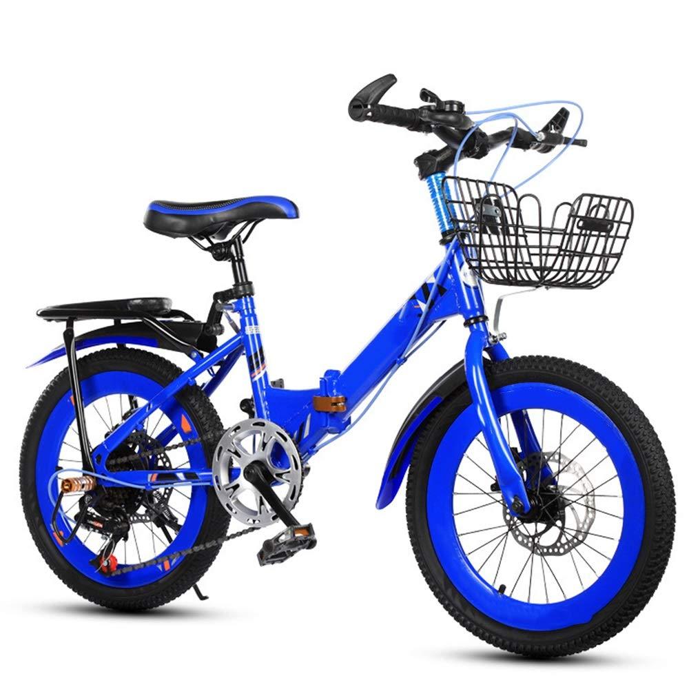 非売品 Axdwfd 子ども用自転車 子供用バイク18 Axdwfd/20インチ、高炭素鋼子供用自転車トレーニングホイール付き才能5-11歳の男の子と女の子 青 20in B07PSFRN4M 青 B07PSFRN4M, 上砂川町:ae150d3e --- arianechie.dominiotemporario.com